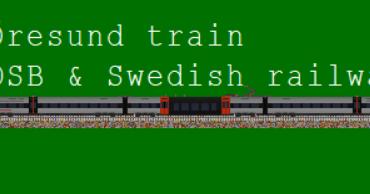 Öresund train, Denmark/Sweden