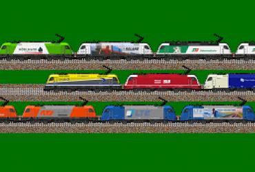 Tauri BR 1216 privater österreichischer Eisenbahn-Gesellschaften, Pack 1