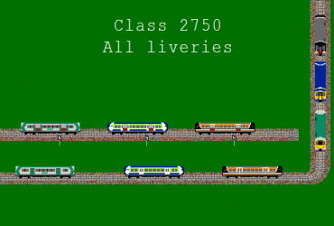 Irish Rail DMU classes 2600, 2700, and 2750