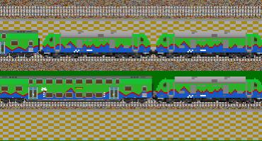 Zug Pack NordDeutscheEisenBahn Gesellschaft