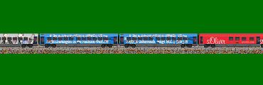 """Railjet-Wagen """"The Red Bulletin Fashion-Train"""""""