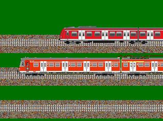 S-Bahn-Triebwagen der DB